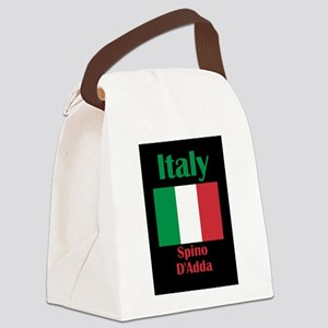 Spino D'Adda Italy Canvas Lunch Bag