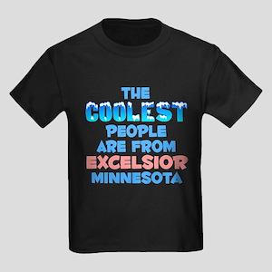 Coolest: Excelsior, MN Kids Dark T-Shirt