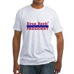 Evan Bayh <BR>Fitted T-Shirt