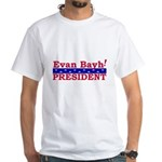 Evan Bayh <BR>White T-Shirt