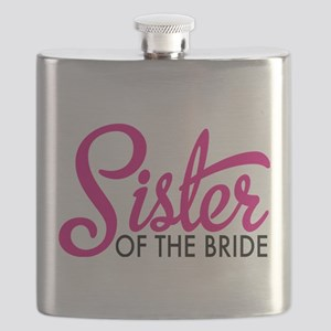 Sister of the bride Flask