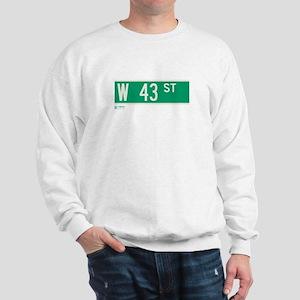 43rd Street in NY Sweatshirt
