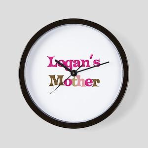 Logan's Mother  Wall Clock