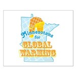 Minnesotans for Global Warming Small Poster