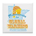 Minnesotans for Global Warming Tile Coaster