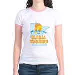 Minnesotans for Global Warming Jr. Ringer T-Shirt