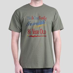 Incredible At 86 Dark T-Shirt