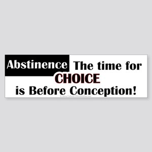 Time for Choice Bumper Sticker