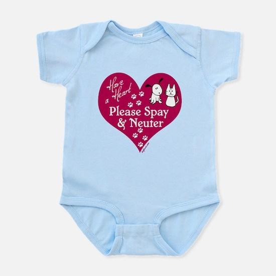 Have a Heart - Spay & Neuter Infant Bodysuit