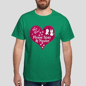 Have a Heart - Spay & Neuter Dark T-Shirt