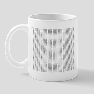 Pi to 4465 with Digit Overlay Mug