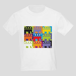 Elephant Diversity Kids Light T-Shirt