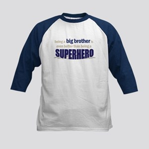 big brother t-shirt superhero Kids Baseball Jersey