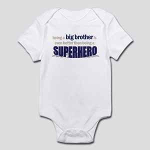 big brother t-shirt superhero Infant Bodysuit