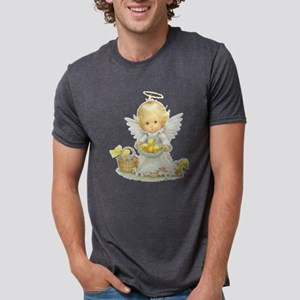 Cute Easter Angel And Ducklings T-Shirt