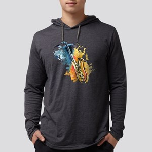 Saxophone Painting Long Sleeve T-Shirt