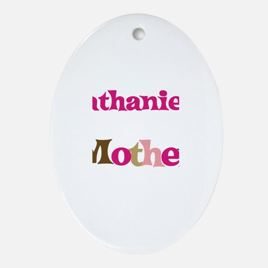 Nathaniel's Mother  Oval Ornament