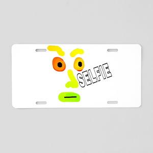 SELFIE Aluminum License Plate