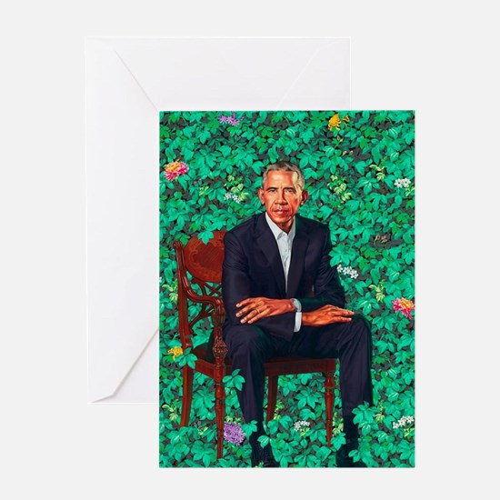 Cute Barack for president Greeting Card