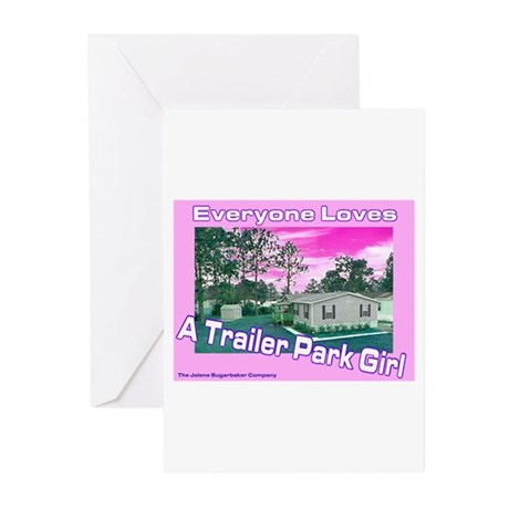 A Trailer Park Girl Greeting Cards (Pk of 10)