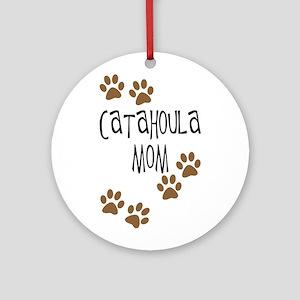 Catahoula Mom Ornament (Round)
