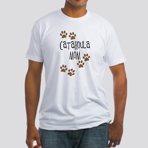 Catahoula Mom Fitted T-Shirt