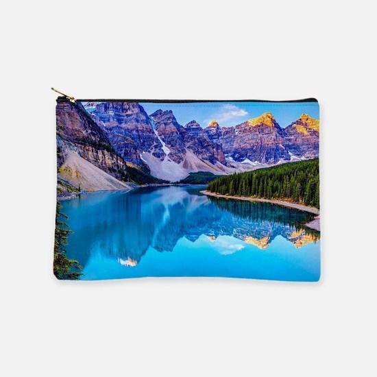 Beautiful Mountain Landscape Makeup Bag