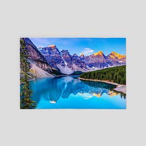 Beautiful Mountain Landscape 4' x 6' Rug