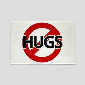 Hugs Not Allowed Rectangle Magnet