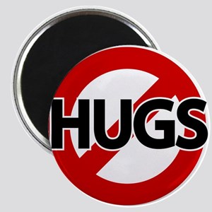 Hugs Not Allowed Magnet