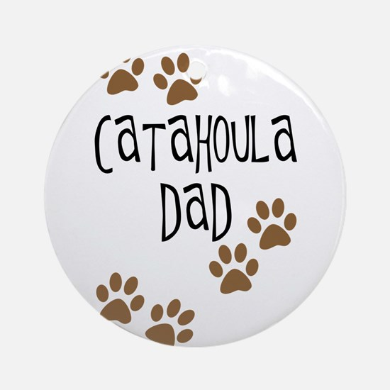 Catahoula Dad Ornament (Round)