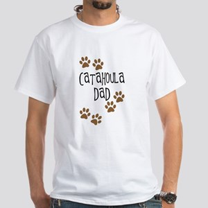 Catahoula Dad White T-Shirt