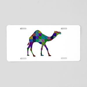 CAMEL SHAPED Aluminum License Plate