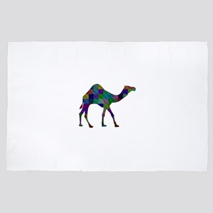 CAMEL SHAPED 4' x 6' Rug