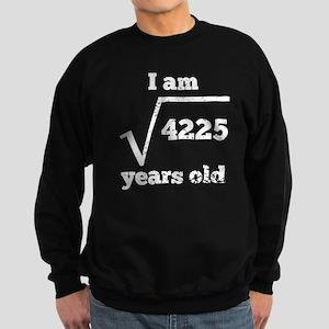 65th Birthday Square Root Sweatshirt