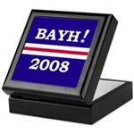Evan Bayh <BR>Tile Memento Box