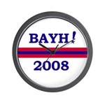 Evan Bayh <BR>Wall Clock