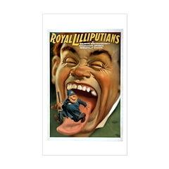 Royal Lilliputians Rectangle Decal