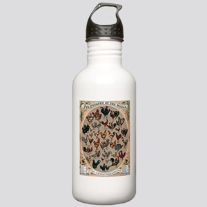 World Poultry Stainless Water Bottle 1.0L