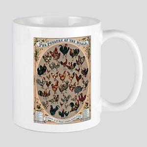 World Poultry Mugs