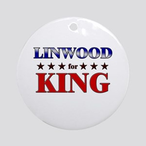 LINWOOD for king Ornament (Round)