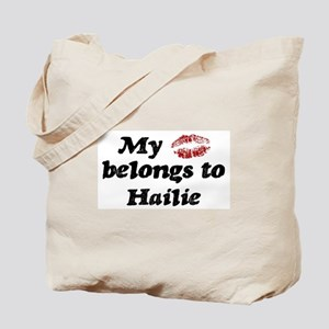 Kiss Belongs to Hailie Tote Bag