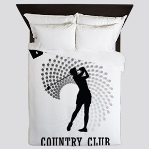 Bushwood Country Club Queen Duvet