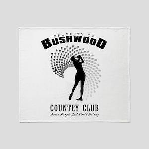 Bushwood Country Club Throw Blanket