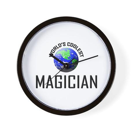 World's Coolest MAGICIAN Wall Clock