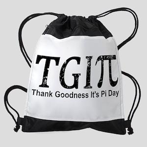 TGIPi - Thank Goodness It's Pi Day! Drawstring Bag