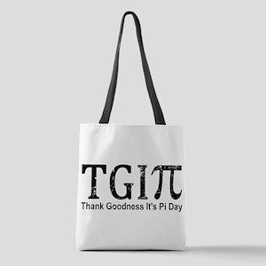TGIPi - Thank Goodness It's Pi Polyester Tote Bag