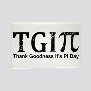 TGIPi - Thank Goodness It's Pi Day! Magnets