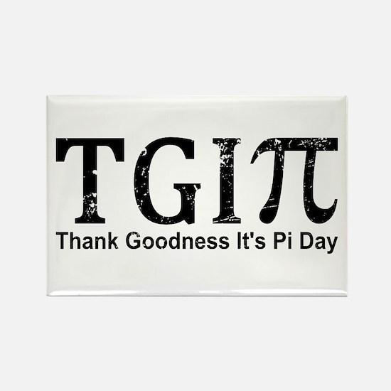 TGIPi - Thank Goodness It's Pi Day! Magnets