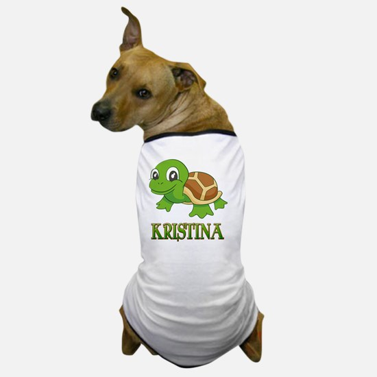 Cute Kristina Dog T-Shirt